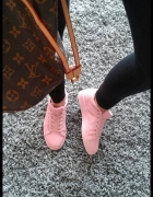 trampeczki superstar pink