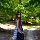 Sukienka w paski Zara