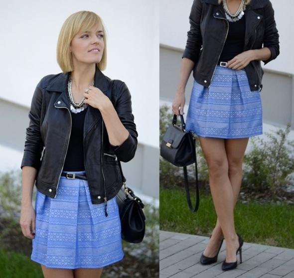 Blogerek Handmade skirt