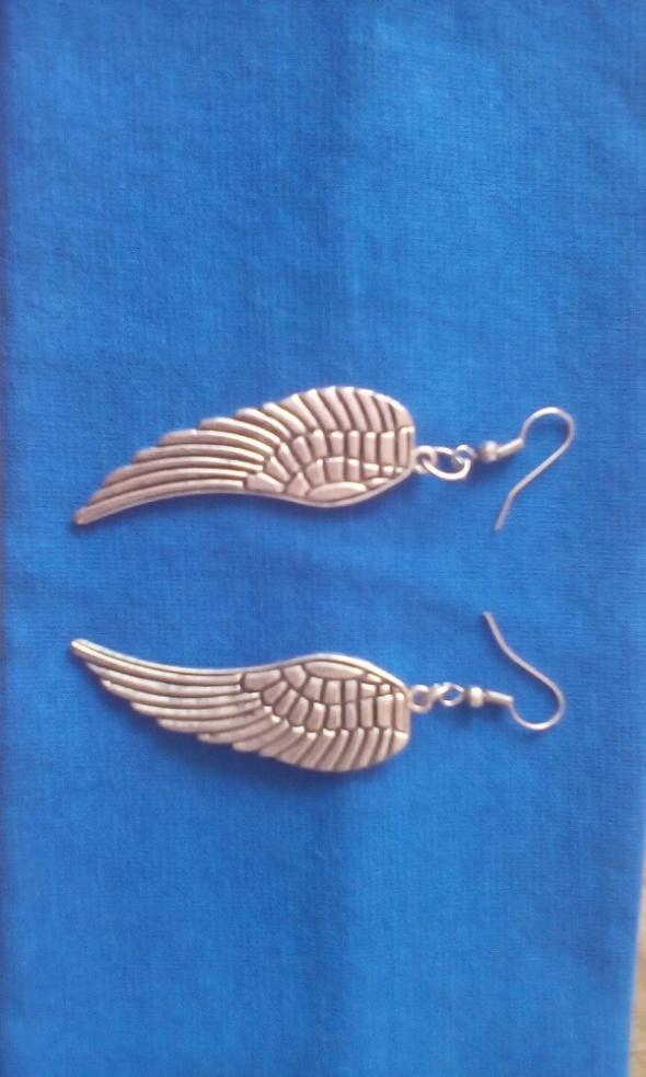 kolczyki skrzydla