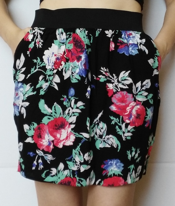 Spódnice Spódnica w kwiaty