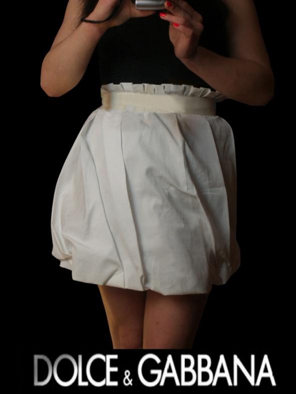 Spódnice Dolce Gabbana biała spódnica S NEGOCJUJ