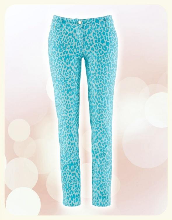 Cudowne NOWE spodnie w panterkę