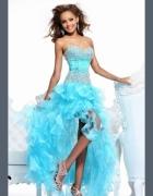 suknia asymetryczna...