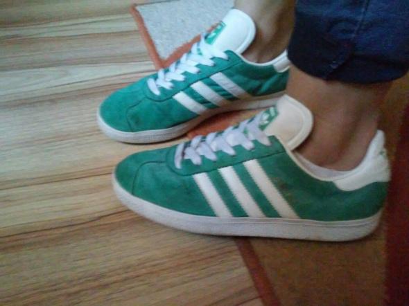 zielone adidasy...