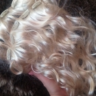 Clip in jasny blond