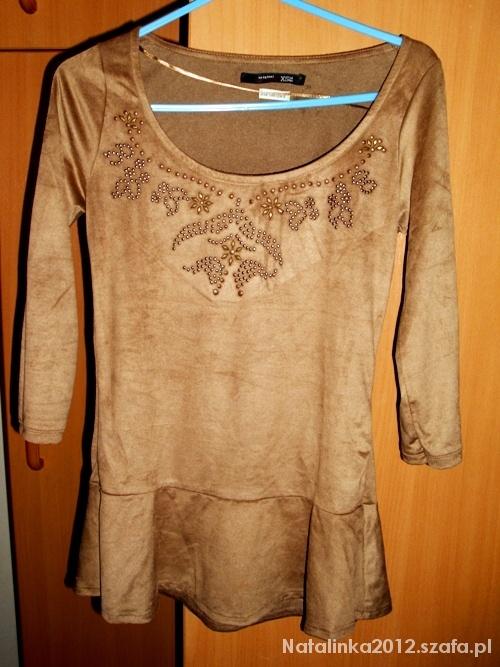 Nowa bluzka baskinka Bershka XS