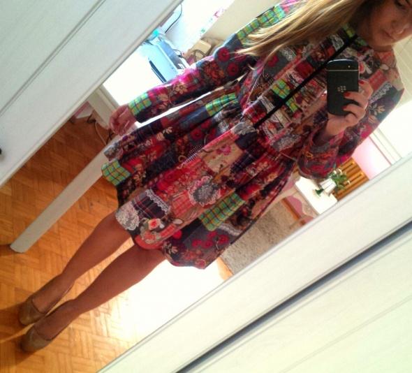 Mój styl rozkloszowana sukienka