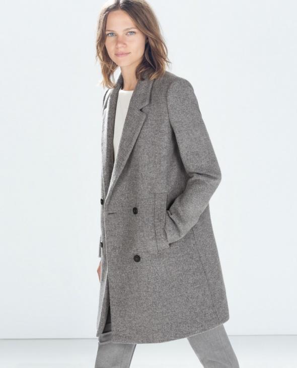 Szukam płaszcz szary...