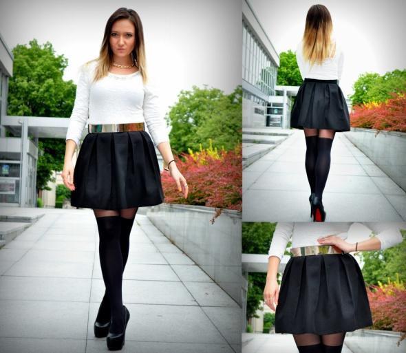 Eleganckie Czarna Mini
