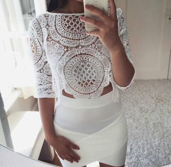 Eleganckie Biała elegancja