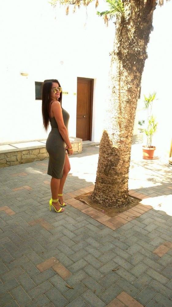 Mój styl Sukienka Khaki NEONOWE SZPILKI