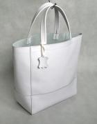 torebka biała klasyczna...
