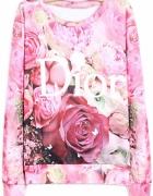 Bluzka w kwiaty DIOR...