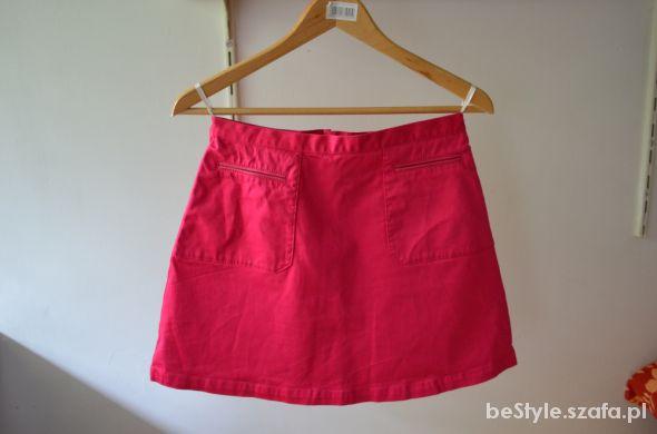 Spódnice Malinowa spódnica H&M HIT
