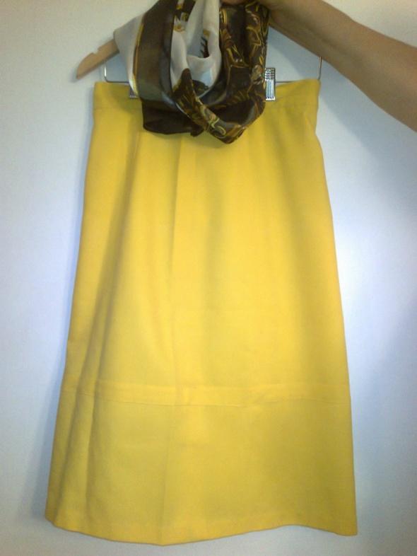 Spódnice żółta spódnica