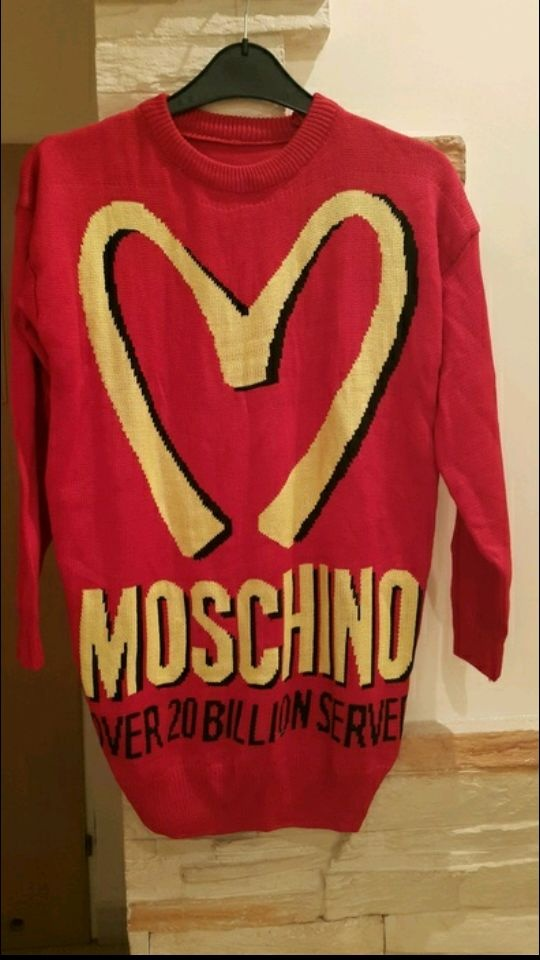 moschino sweter tunika...