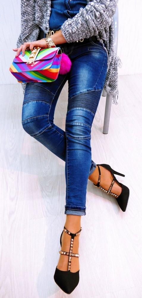 Mój styl Jeansowe love