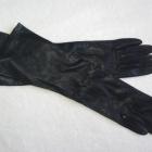 Długie classy rękawiczki skórzane