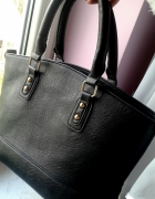 Torba Czarna Shopper Bag Duża