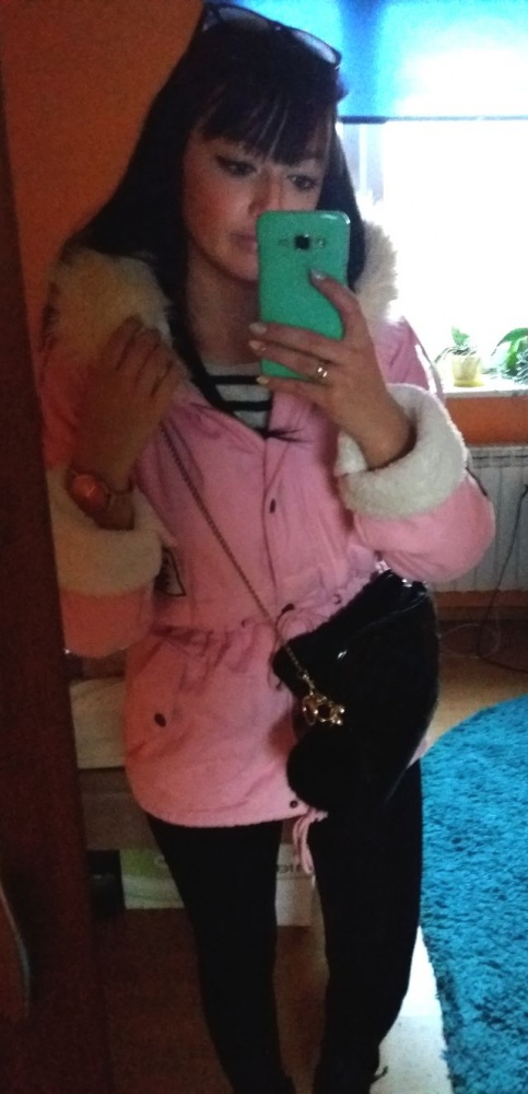 Mój styl Pink Parka
