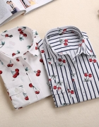 Koszula w wisienki