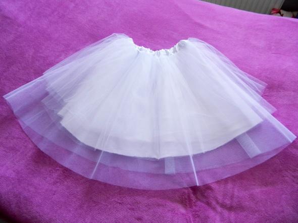 Spódnice Biała spódnica tiulowa balerina jak NOWA