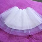 Biała spódnica tiulowa balerina jak NOWA