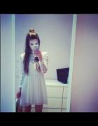 my style white dress