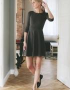 MLE COLLECTION Szara sukienka z koła Kasia Tusk