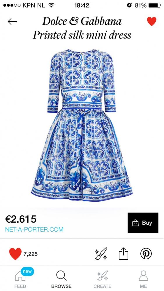 Ubrania sukienka Dolce & Gabana