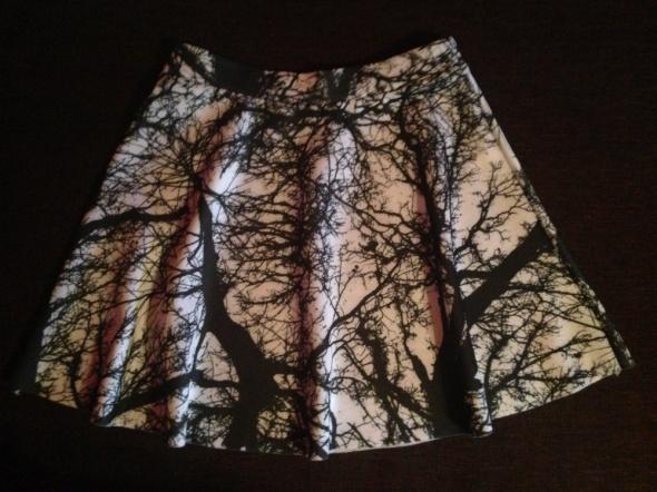 Spódnice mini spódniczka street style nadruk z koła HIT