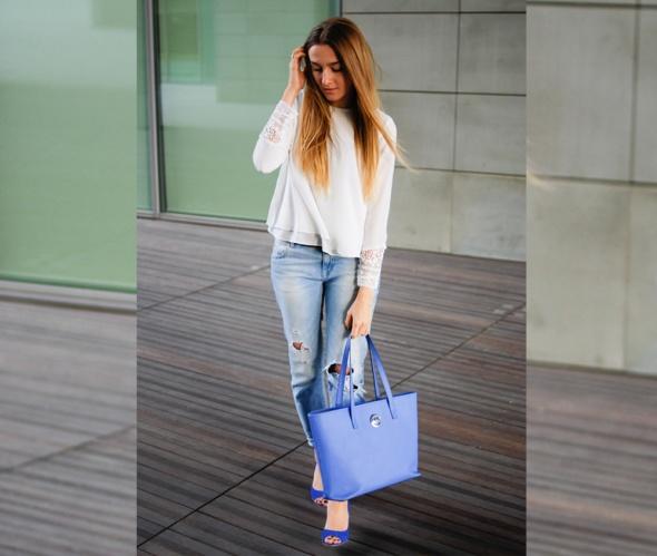 Blogerek Niebieskie buty