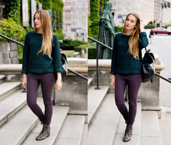 Blogerek Włochaty sweter