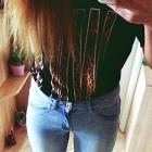 spodnie skinny dziury spodnie h&M