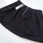 Śliczna rozkloszowana spódniczka CZARNA NOWA L XL