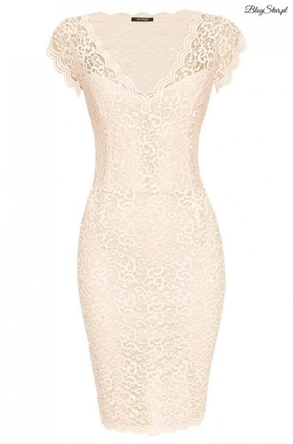 Ubrania sukienka koronkowa Orsay