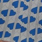 CARMEN ołówkowa w serca paski spódnica NOWA 40 L