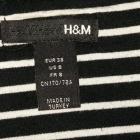 Spódniczka w paski h&m