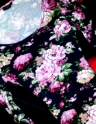 Sukienka Tuniczka Floral Dekolt Cudoo
