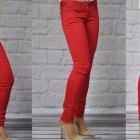 MISS RJ rurki czerwone red XS do XL