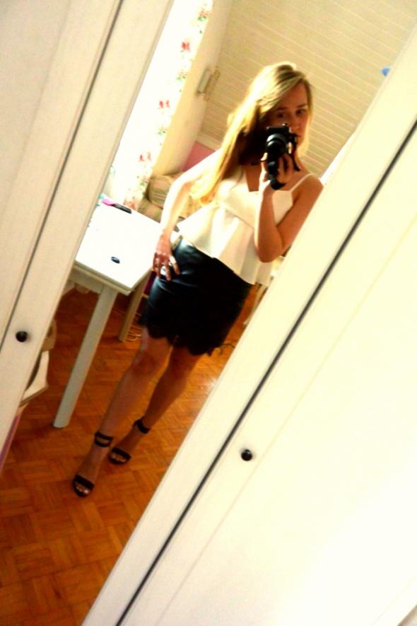 Eleganckie Black n white
