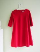 trapezowa sukienka z vubu dobra nawet na M