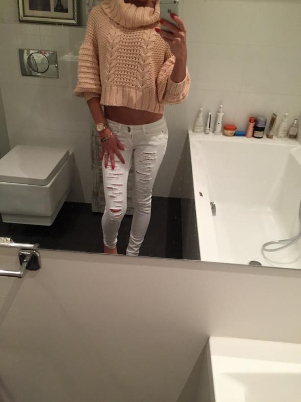 Codzienne Różowy sweterek 2