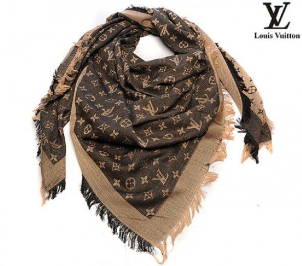 Piękny szal Louis Vuitton