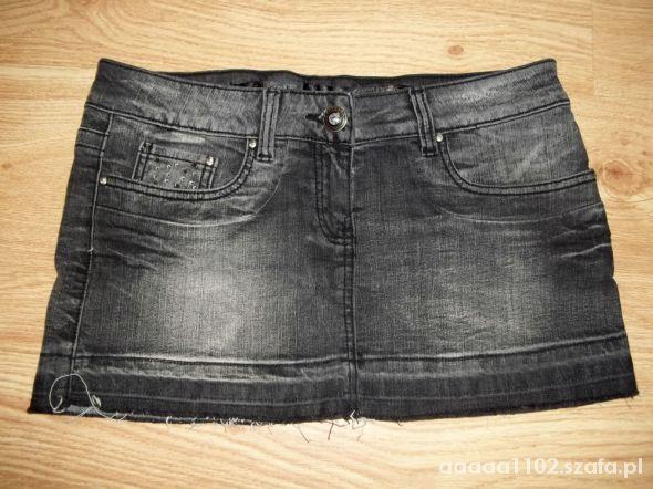 Spódnice Spódniczka mini jeans