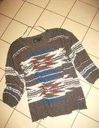fajny cienki sweterek 48 50