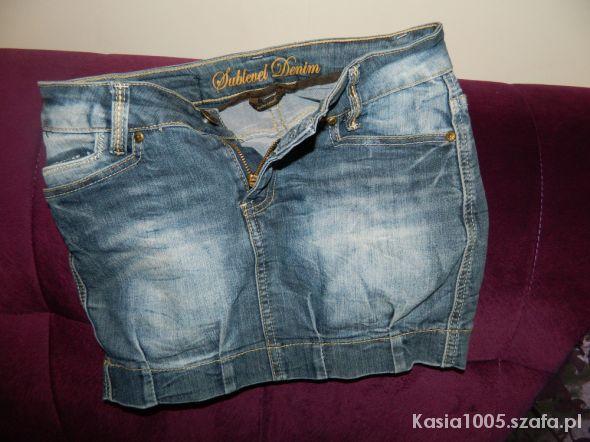 Spódnice DENIM jeansowa bomka jak nowa