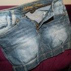 DENIM jeansowa bomka jak nowa