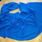 szal H&M niebieski duży